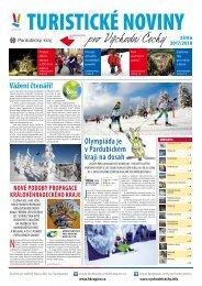 Turistické noviny pro východní Čechy - zima 2017/8