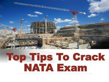 Top Tips To Crack NATA Exam