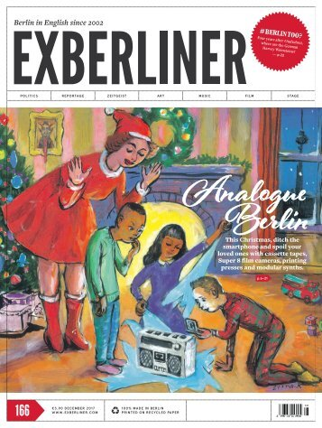 EXBERLINER Issue 166, December 2017