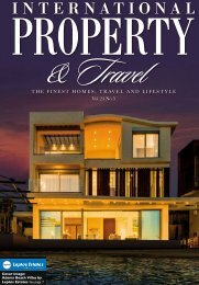 International Property & Travel magazine - Personalised Digital Edition Sample