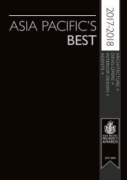 Asia Pacific's Best 2017-2018