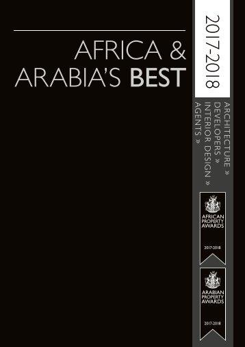Africa & Arabia's Best 2017-2018