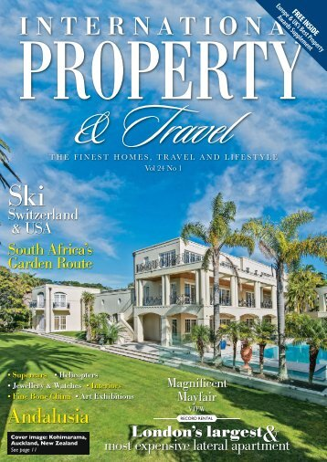 International Property & Travel Vol 24 No 1 - January/February 2017