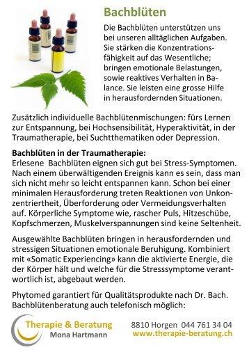 Therapie & Beratung Mona Hartmann