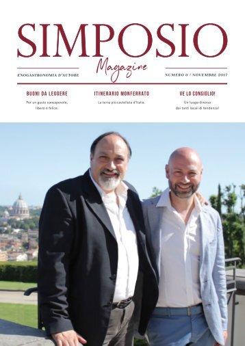 Simposio Magazine / Numero Zero