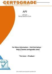 API-570 Exam Practice Software