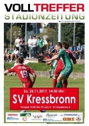 7. Ausgabe Stadionzeitung 2017/18