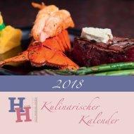 Hotel-Restaurant Hessischer Hof: Kulinarischer Kalender 2018