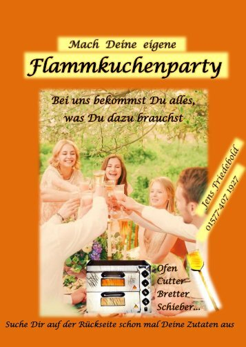 Flammkuchenparty