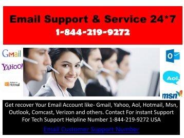 Get Fix Your Email Problem Dial +1-844-219-9272 USA Helpline USA