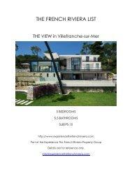 The View - Villefranche-sur-Mer