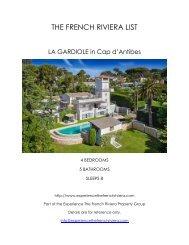 La Gardiole - Cap d'Antibes
