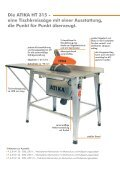Tischkreissäge HT 315 Die robuste,  leistungsstarke Säge mit ... - Atika - Seite 2
