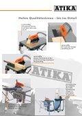 Tischkreissäge HT 315 Die robuste,  leistungsstarke Säge mit ... - Atika - Seite 3