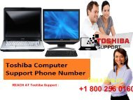 1-800-256-0160 Toshiba Computer Support Phone Number