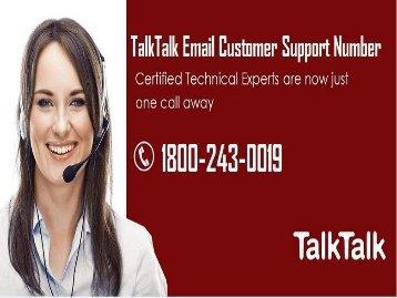 TalkTalk Email Customer Support Number| 18002430019