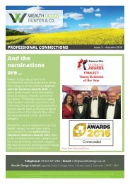 Quarter 3 2016 | Issue 3 Professional Connections Newsletter