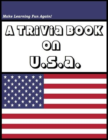 A Trivia Book on USA