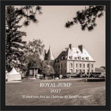 Royal Jump 2017 - Il était une fois au château de Bertichères