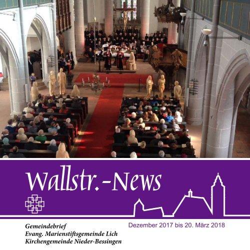 Wallstr.-News 2017/2018