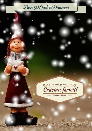 Magia Crăciunului sau Sacul cu daruri - pentru prieteni, parinti si nasi