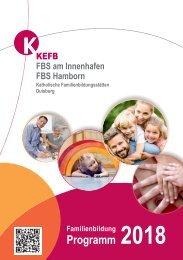 Duisburg FBS @KEFB Bistum Essen Jahresprogramm 2018
