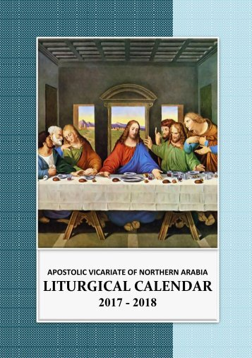 Avona Liturgical Calendar 2018