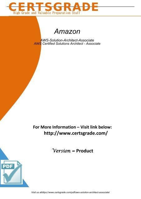 AWS-Solution-Architect-Associate Exam Material