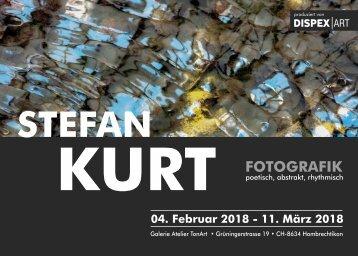Ausstellungskatalog Stefan Kurt 2018