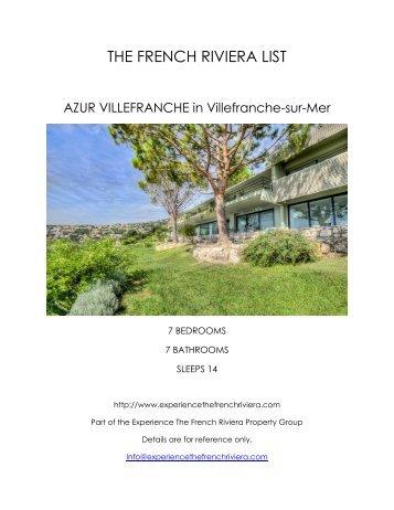 Azur Villefranche - Villefranche-sur-Mer