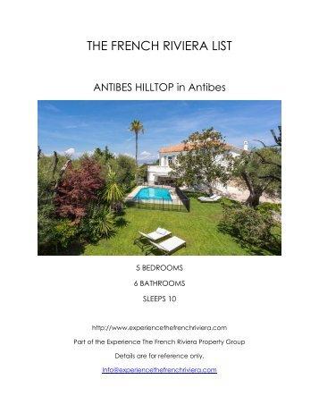 Antibes Hilltop - Antibes