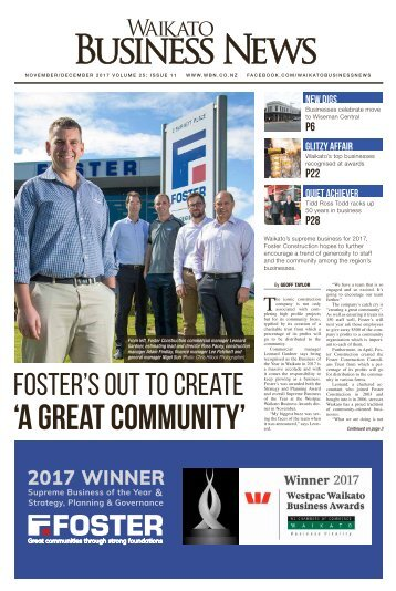Waikato Business News November/December 2017