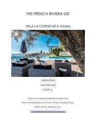 Villa La Corniche - Grasse