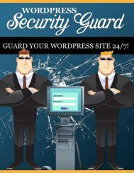 Wordpress Security Guide - How To Increase Security Of Wordpress Website