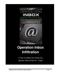 Inbox Infiltration Guide - How To Get Your Email Opened