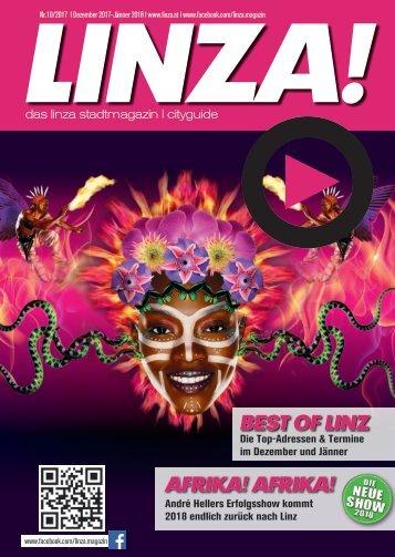 LINZA stadtmagazin Ausgabe#10 – Dezember 2017 / Jänner 2018