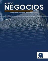Mundo Negocios- Revista Empresarial de la UNMSM FCA EAP NNII , Año 2017
