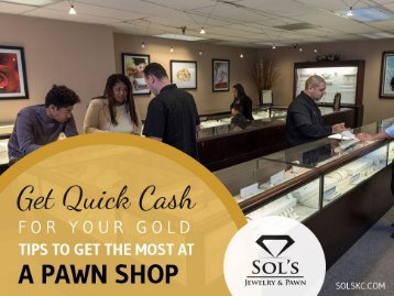 Get the Most from Your Gold Jewelry - Pawn Shop in Kansas City