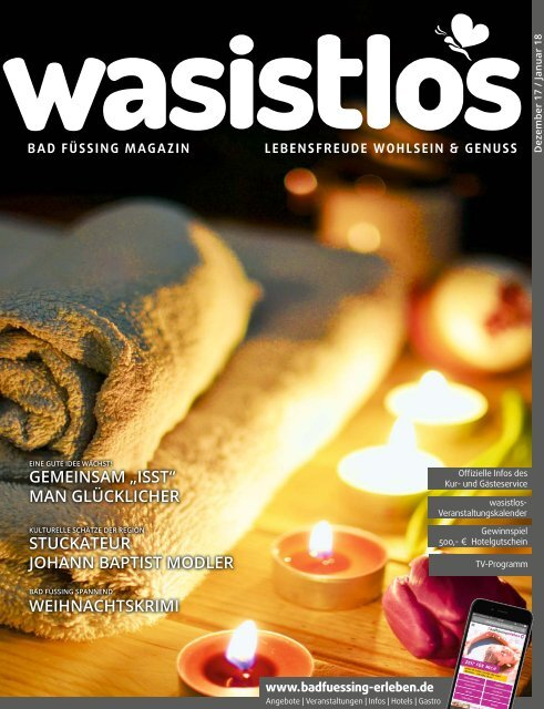 wasistlos Bad Füssing Magazin Dez 17/Jan 18