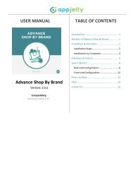 Magento 2 Advance Shop By Brand Extension