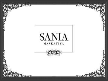 Luxury Pret Contemporary-Women's Designer Clothing -Sania Maskatiya