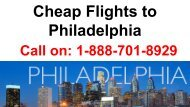 Cheap Flights to Philadelphia