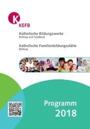 Bottrop @KEFB Bistum Essen Programm 2018