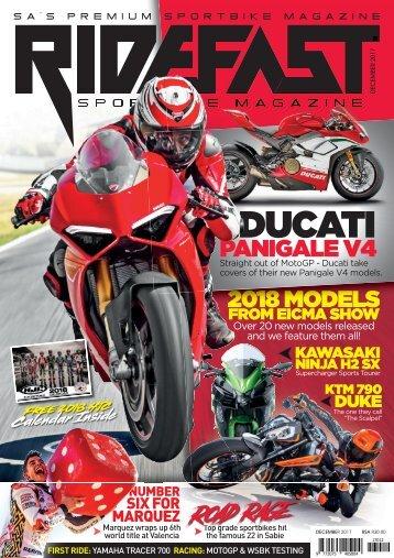 RideFast Magazine December 2017