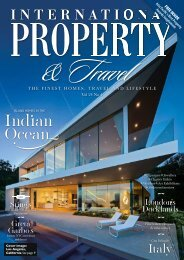 International Property & Travel Vol 24 No 4 - July/August 2017