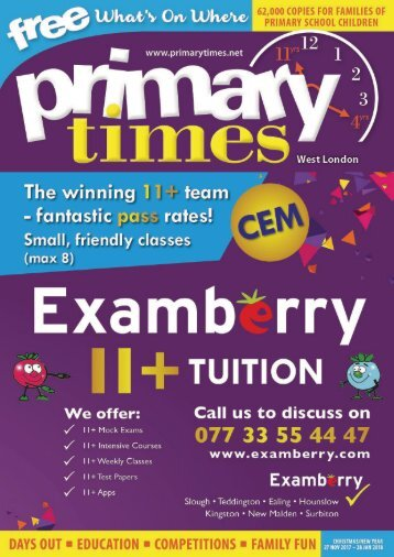 Primary Times West London - Christmas 2017