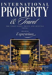 International Property & Travel Vol 24 No 5 - September/October 2017