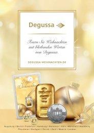 Weihnachtskatalog Degussa 2017