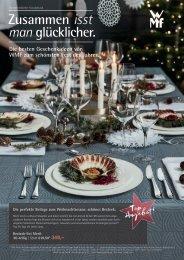 WMF Weihnachtsflyer 2017