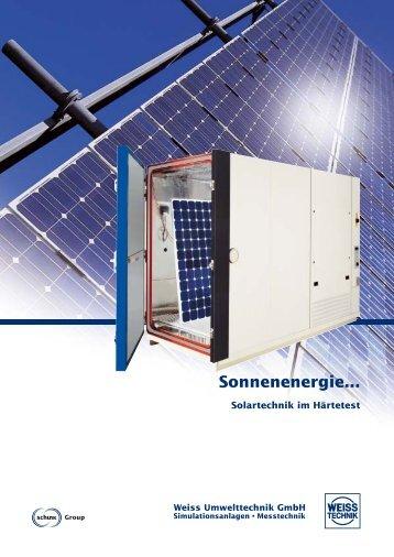 Prospekt WUT Solar (D).pdf - Weiss Umwelttechnik GmbH